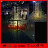 La Navidad al aire libre del jardín que baila la luz impermeable de la decoración LED de la fuente