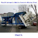 35m3 / H automático lleno de móvil Planta mezcladora de concreto / Planta mezcladora