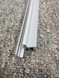 O plástico branco personalizado do PVC expulsou perfil para as luzes do diodo emissor de luz, os tetos etc. do escritório