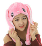 暖かく柔らかくかわいくおかしいプラシ天動物党帽子