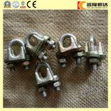 DIN 741 a modifié le clip de câble métallique d'acier inoxydable