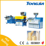 Máquina plástica de la cadena de producción acanalada del tubo