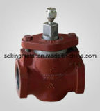 던지기 Iron Flange End 125lbs Ball Valve