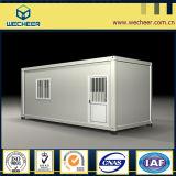 Casa Prefab do recipiente do baixo custo para o hotel/escritório/dormitório/casa modular