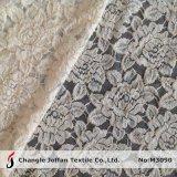Tissu Allover en ivoire de lacet de coton (M3093)