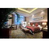4つの星のホテルの家具ゲストのためのマホガニー王寝室セット