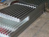 Chapa de aço ondulada galvanizada revestida cor de PPGI