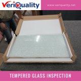 Ausgeglichenes Glas-Qualitätskontrolle-Inspektion-Service in Dongguan, Guangdong