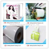 papier enduit du poids léger 60-80g pour Magazine&Gift Pacakaging