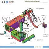 オイル沈積物のリサイクルは1日あたりのプラント40-60tonを気化させる