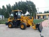 1.6 tonnellate di mini della rotella anteriore del caricatore lista idraulica cinese industriale di prezzi