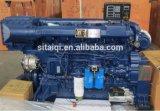 Motor diesel marina 350HP 400HP 450HP 500HP 550HP de la serie de Weichai Deutz Wp12c