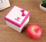 Doos van de Gift van Kerstmis van de Stijl van de Verkoop van de fabriek de Directe Nieuwe Vierkante met Nice Bowknot, de In het groot Doos van Juwelen