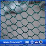 熱い販売PVC上塗を施してある石造りの六角形の金網