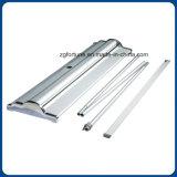 Hochwertige flache Unterseiten-Produkt-Aluminiumbildschirmanzeige rollen oben Standplatz
