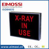 Signes en service de porte de rayon X de méthode de commutateur de DEL