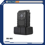 Senken CCTVの防水小型サイズの機密保護の極度の妖精HDの警察GPS構築ののボディによって身に着けられているIPのカメラ