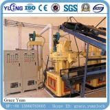 linha de madeira da máquina da produção da pelota da serragem da biomassa 4-6t/H