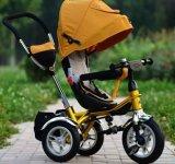 大きい子供(OKM-1165)のための1人の中国製贅沢な赤ん坊Trikeに付きスマートな4人