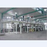El tratamiento por lotes revolvió el reactor del tanque con vapor o la envuelta exterior calefactora eléctrica
