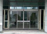 Puertas deslizantes de cristal automáticas resistentes