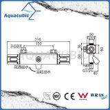 Válvula termostática determinada de la ducha del mezclador de la barra cuadrada con el canalón para la bañera (AF7371-7)