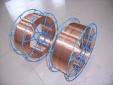 銅の上塗を施してある二酸化炭素のガスによって保護される溶接ワイヤEr70s-6
