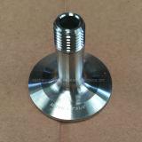 Tri Schelle-fester Endstöpsel des Nahrungsmittelgrad-Ss16L mit dem Rohr zentriert