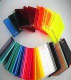 Folha acrílica Desobstruído-Colorida do plexiglás PMMA