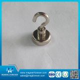 Support de pot magnétique Magnet à pot permanent avec boîtier métallique pour moteur