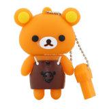 Lecteur flash USB d'ours de Thumbdrive de lecteur flash USB de dessin animé