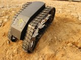 Chasis de goma de la pista del tren de aterrizaje de la pista de la correa eslabonada/vehículo todo terreno (K02SP8MCAT9)