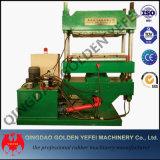 Tipo máquina de moldear de goma, máquina de vulcanización de la columna de la placa