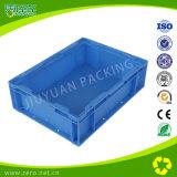 Peças de automóvel profissionais que embalam o recipiente plástico azul do cavalo-força