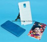 Cellule du blanc 3D Subliamtion/couverture/cas bon marché de téléphone mobile pour Samsung Note4