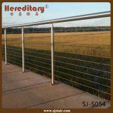 Напольная конструкция балюстрады Railing кабеля нержавеющей стали (SJ-S054)