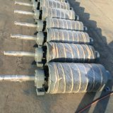 Durchmesser, 356mm gefahrene Trommel-Riemenscheibe mit Gummiverkleidung