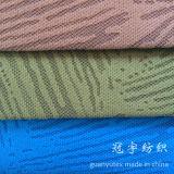 Tissu de velours côtelé avec le polyester et métallisé en nylon pour le sofa