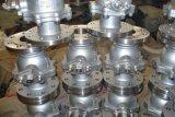 ANSI Turnion de Kogelklep van het Roestvrij staal Met Flens