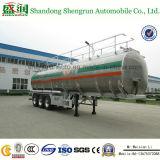 50 Cbm de Aanhangwagen van de Olietanker van het Aluminium, De Aanhangwagen van de Tankwagen van de Brandstof,