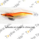 Maschera di calamaro di pesca con colore arancione
