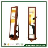 Gabinete Permanente com Jóias de Rotação de 360 graus com espelho de limpeza