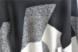 De mensen om Hals vormden de Lange Gebreide Sweater van de Koker Trui