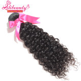 Weave malaio Curly 16inches Curly profundo do cabelo humano