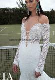 レースの花嫁衣装の薄く長い袖のBertaのウェディングドレスZ2079