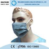Wegwerfnicht gesponnene aktive Kohlenstoff-Gesichtsmaske, Ohr-Schleife, 4ply