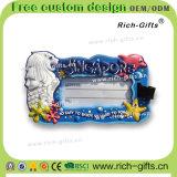 Магниты холодильника с подарками подгонянными рамкой промотирования фотоего Сингапур (RC-SE)