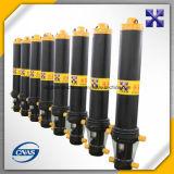 Cilindro hidráulico telescópico gradual para el acoplado/el carro de vaciado