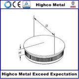 Protezione di estremità inossidabile del corrimano per il tubo della balaustra 42.4mm