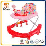 Младенец горячего первого шага сбывания пластичный Toys ходок с дном основания формы u